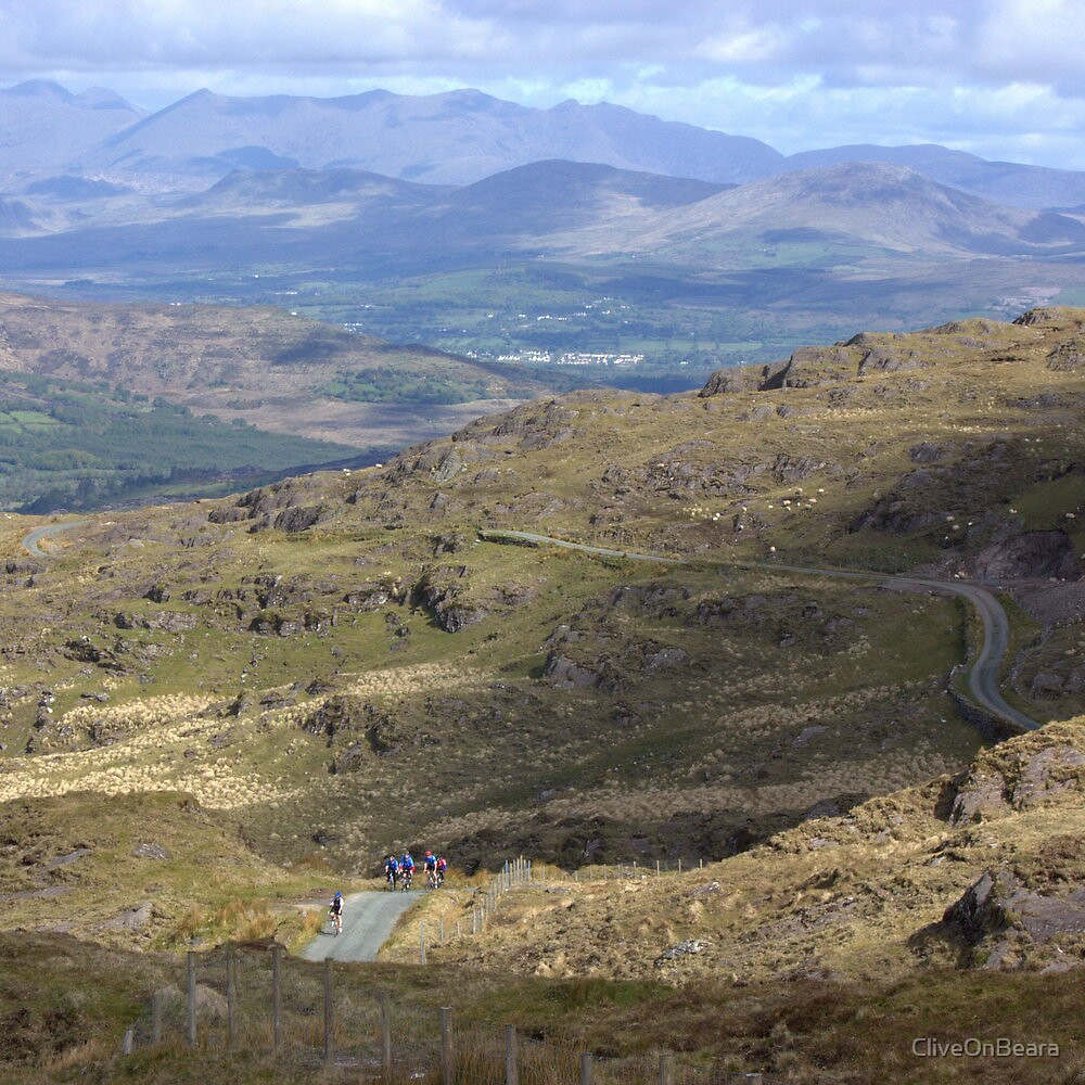 Cycling, the Kerry way by CliveOnBeara
