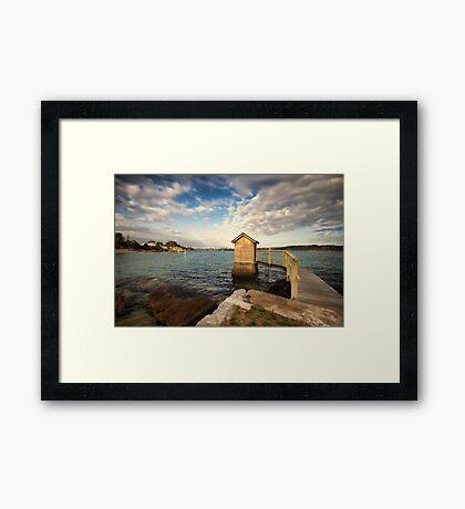 Camp Cove  Framed Print