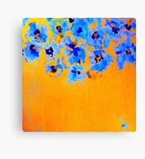 Habibiflo yellow-orange Canvas Print