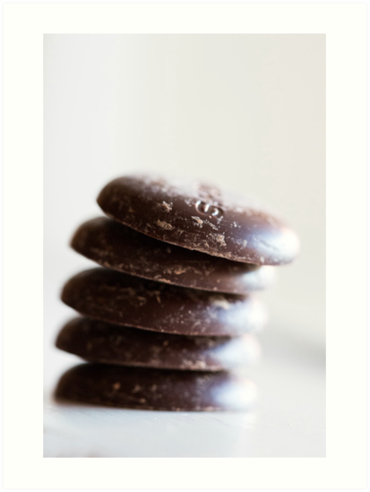 Chocolate Buttons by Hege Nolan