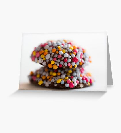 Freckle Stack 2 Greeting Card