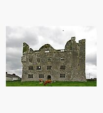 Leamanagh Castle Photographic Print