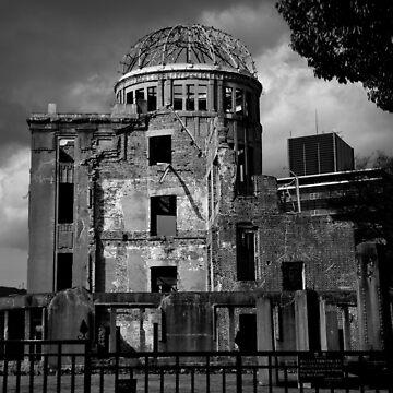 A-Bomb Dome, Hiroshima by joffotron