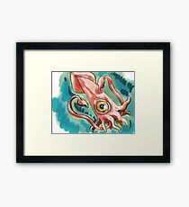 Lovecraft Hated Seafood Framed Print
