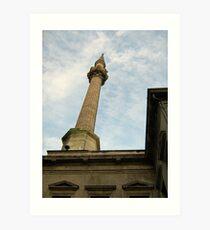 minaret. Art Print