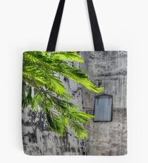 The Hidden Window at Fort Charlotte in Nassau, The Bahamas Tote Bag