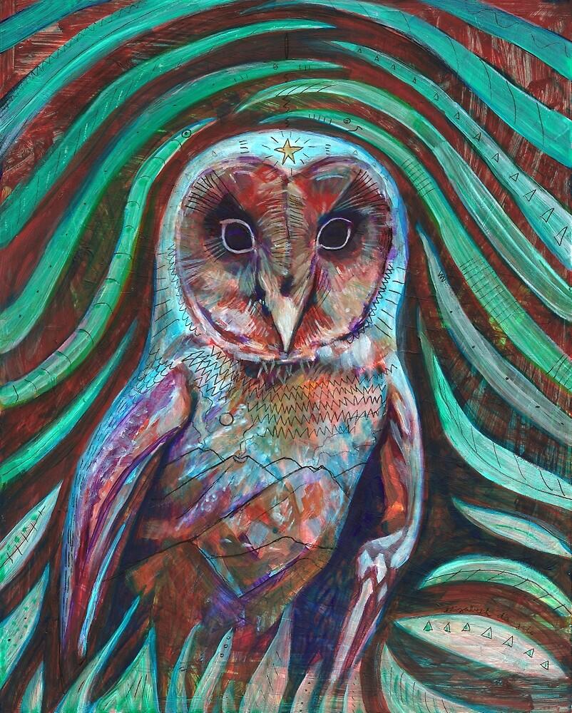 Owl Heart by Elizabeth D'Angelo