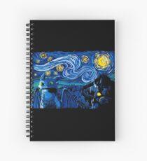 Starry Berk Spiral Notebook