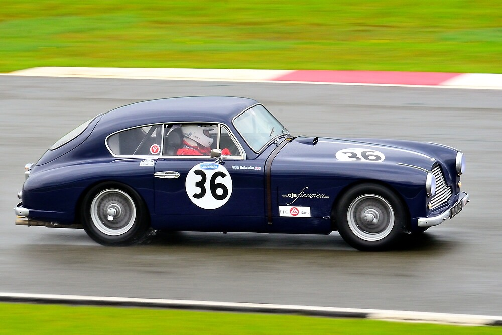 Aston Martin DB2/4 No 36 by Willie Jackson