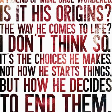 Choices (Hellboy) by ABRAHAMSAPI3N
