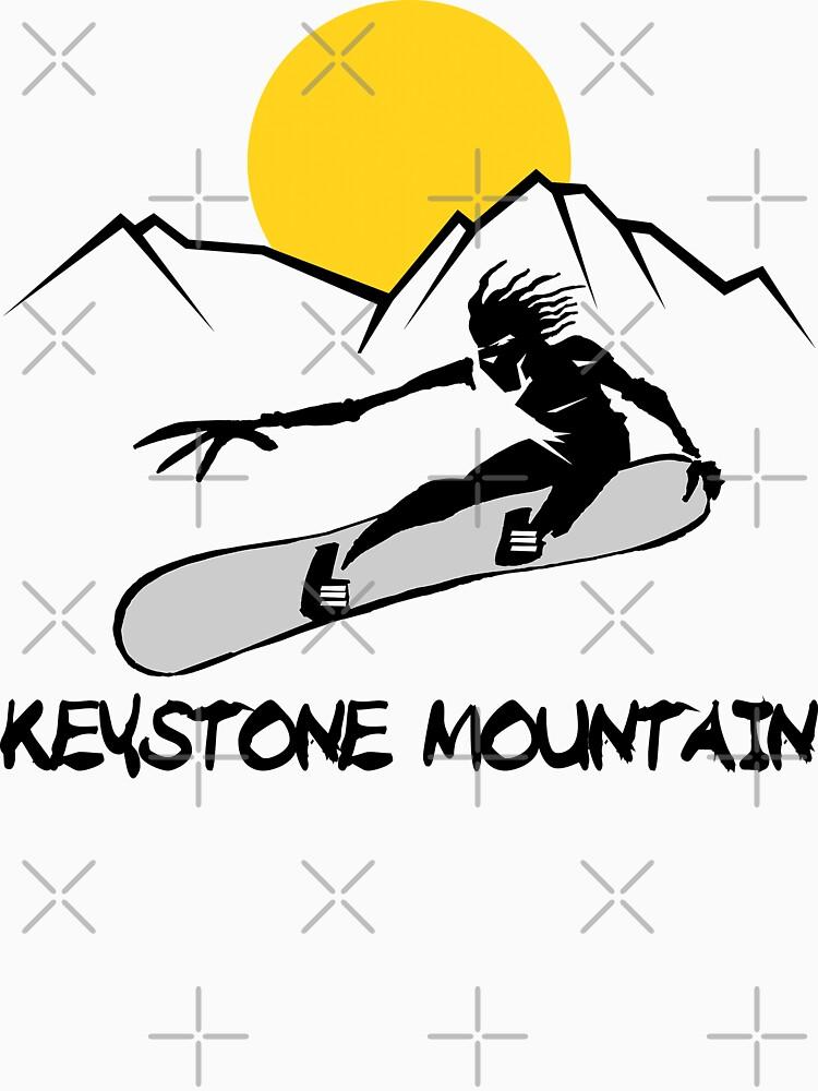 Keystone, Colorado Snowboarding by SportsT-Shirts