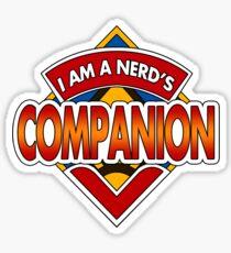 Dr Nerd's Companion Sticker
