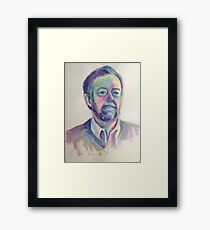 Portrait of Lawrence Framed Print