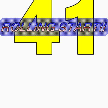 Rolling Start - Daytona USA shirt by kalitarios