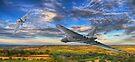 Flight of the Vulcans  by Nigel Bangert