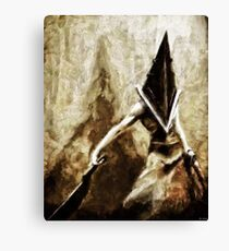 Pyramid Head Canvas Print