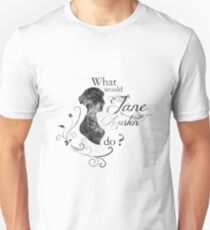 What would Jane Austen do ? (vintage) T-Shirt