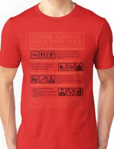 Zombie Survival - Quick Start Guide T-Shirt