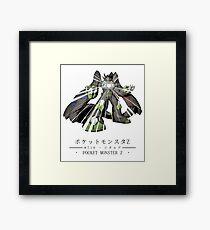 Pokemon Z Framed Print