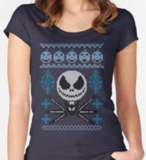 Jack-mas Women's Fitted Scoop T-Shirt