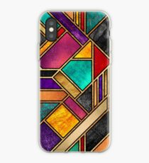 Colorful City Night iPhone Case