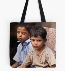 Boys In The Market Tote Bag
