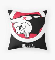 Sheep-n-Wolves Clothing Logo Throw Pillow