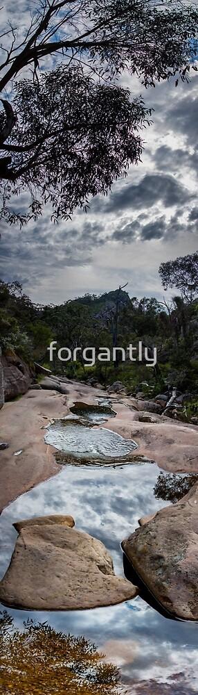 Venus Baths - Grampians, Panorama by forgantly