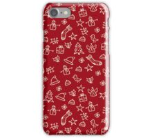 christmas winter design iPhone Case/Skin