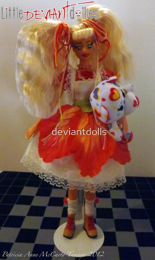 Goldie Locks and her Bear by deviantdolls