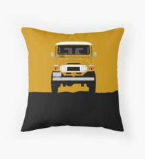 The classic offroader Throw Pillow