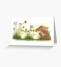 Shroom House #1 Greeting Card