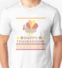 Ugly Thanksgiving Sweater Unisex T-Shirt