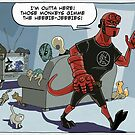 HellBoy's got the Heebie Jeebies by andyjhunter