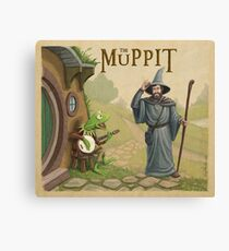 The Muppit Canvas Print