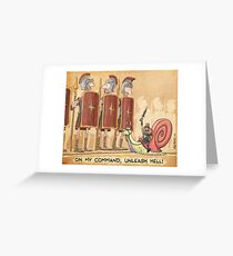 Mini-Maximus Greeting Card