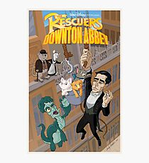 The Rescuers Downton Abbey Photographic Print
