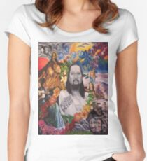 A Tribute to Willie K Women's Fitted Scoop T-Shirt