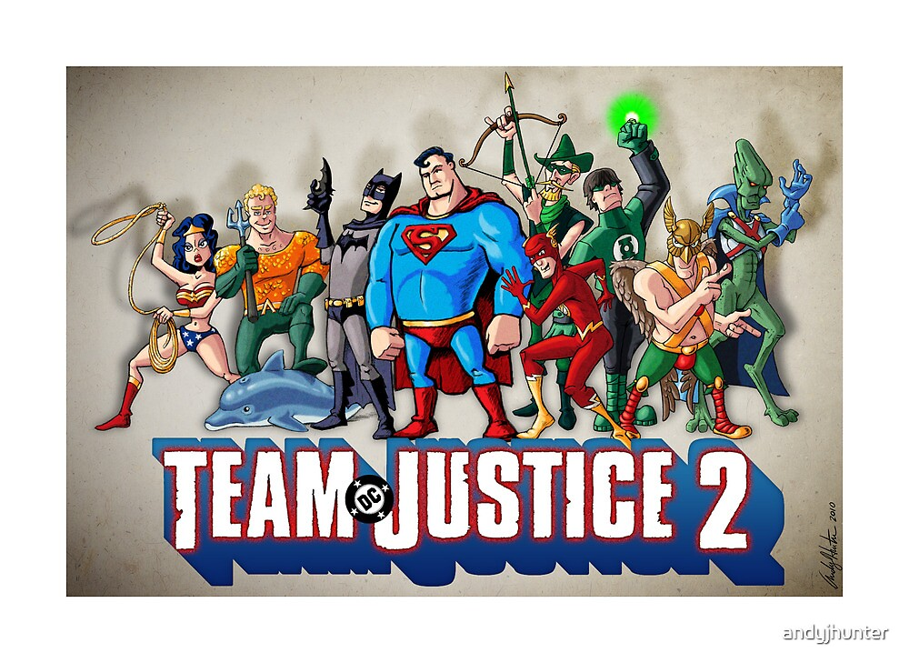 Team Justice 2 by andyjhunter