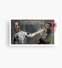 Terminator - Judgement Ape Metal Print