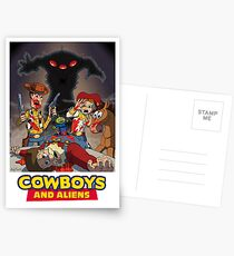 Toy Story - Cowboys and Aliens Postcards