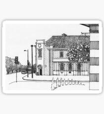 Letchworth Town Centre Sticker