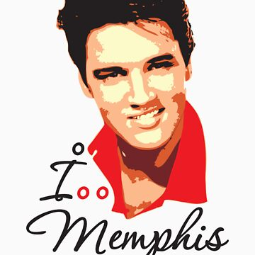 I LOVE MEMPHIS T-shirt by ethnographics