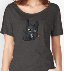 Chibi Toothless Women's Relaxed Fit T-Shirt