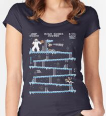 Donkey Hoth Women's Fitted Scoop T-Shirt