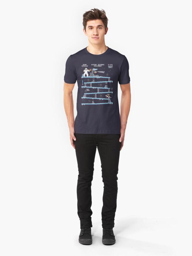 Alternative Ansicht von Donkey Hoth Slim Fit T-Shirt