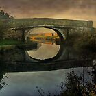 Canal Bridge  by Irene  Burdell