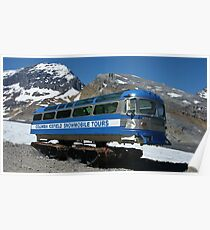 Columbia Icefield Snowmobile Poster