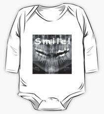 Famous quotes series: Panoramic Dental X-ray with a smile  One Piece - Long Sleeve