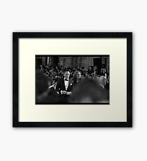 You Know His Name Framed Print